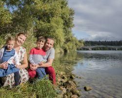 Sur les bords de Saône